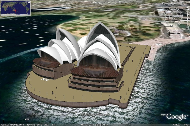 Batiments 3D avec textures - MONDE [Sketchup] Opera_12