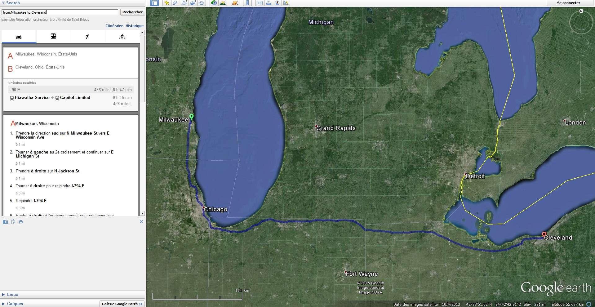""" Welcone to Cleveland "" à ... Milwaukee, Visconsin - USA Sans_106"