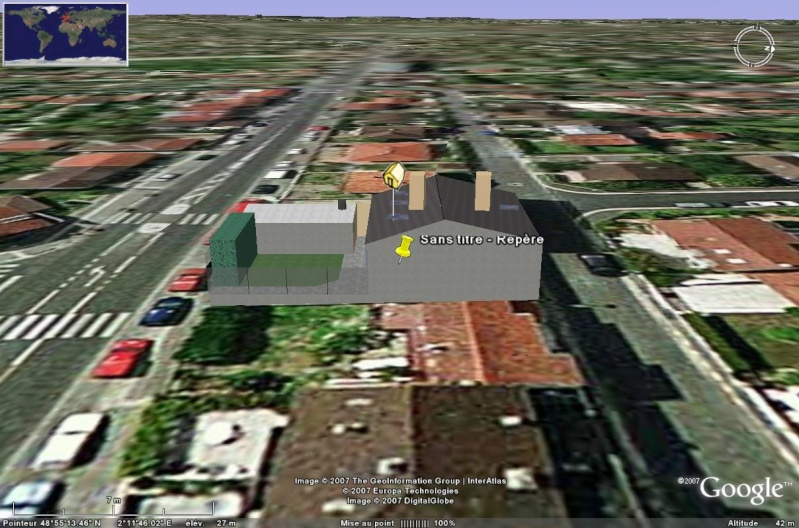 Bâtiments 3D avec textures - PARIS et Région parisienne [Sketchup] Tigre_10
