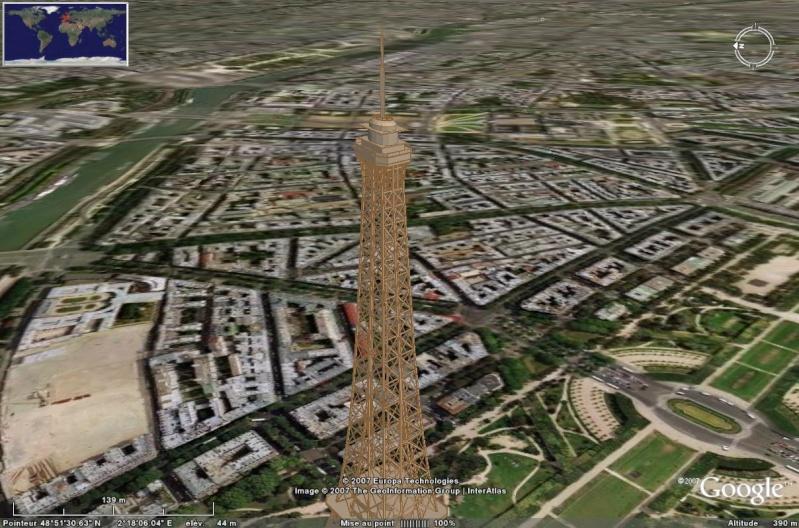 Bâtiments 3D avec textures - PARIS et Région parisienne [Sketchup] - Page 2 Tour_e17