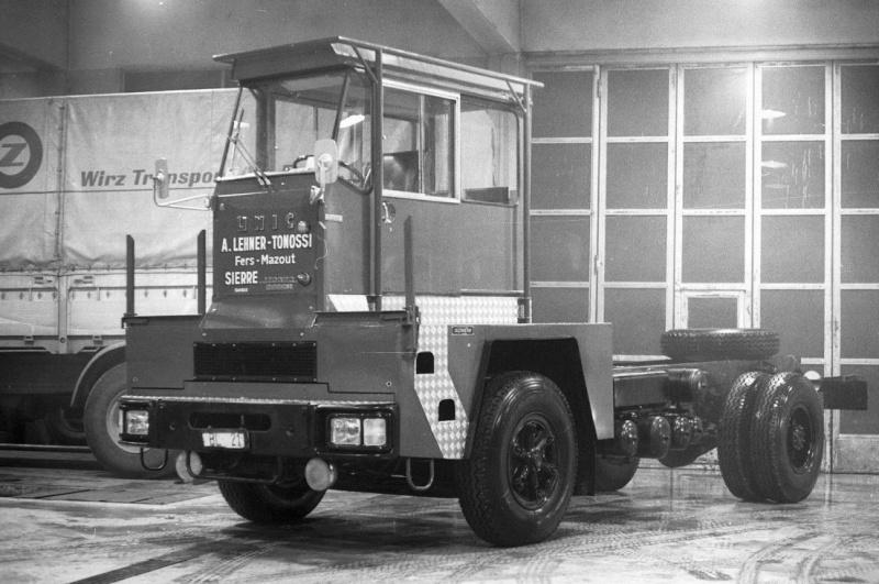 Les camions porte-fer 1411