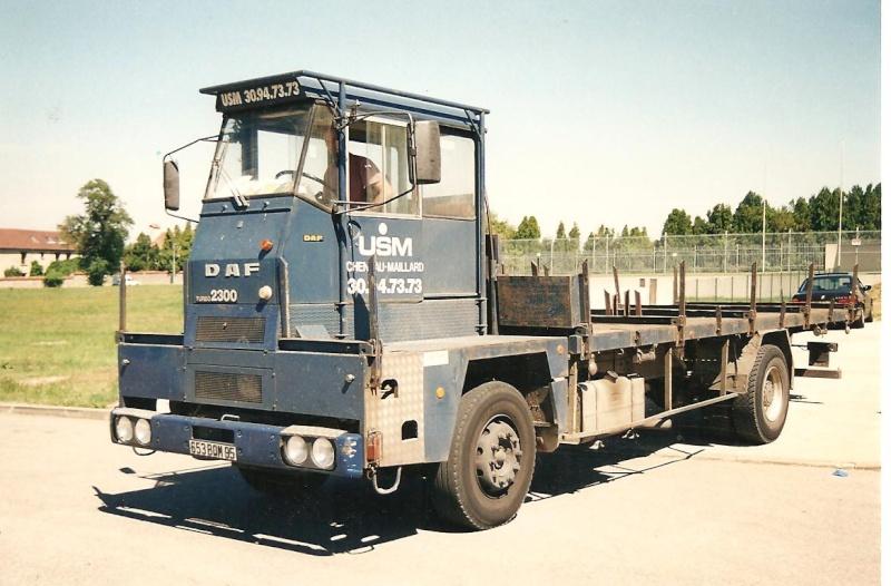 Les camions porte-fer 523