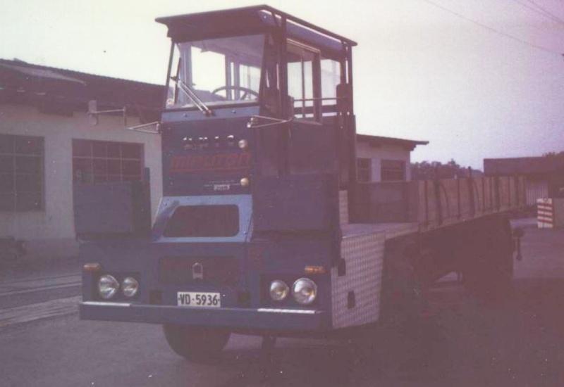 Les camions porte-fer 711