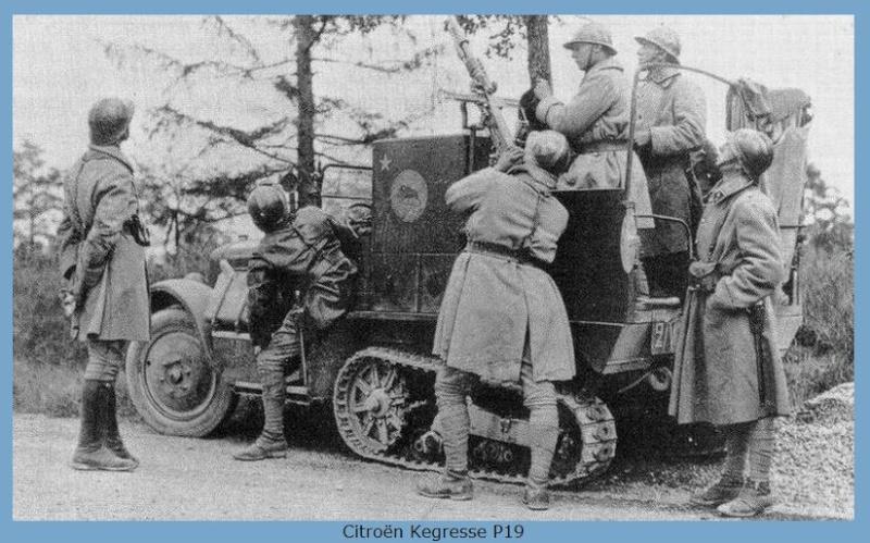Chenille d'armee Belge Capt1029