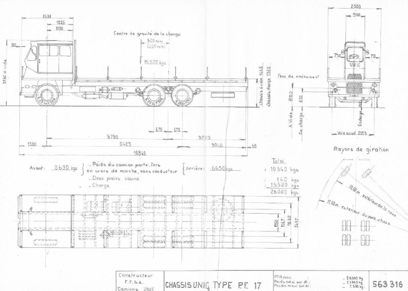 Les camions porte-fer Captu370
