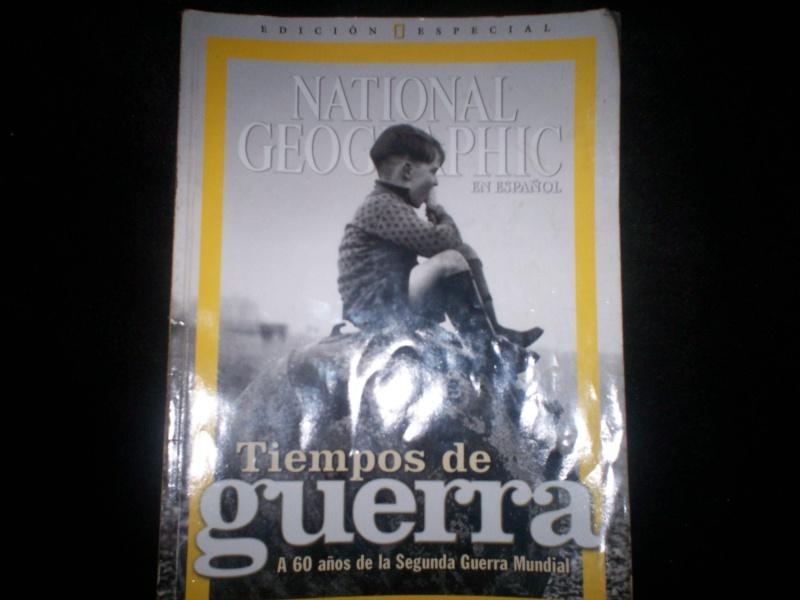 Portada Revista National Geographic 60 años Segunda Guerra. Nation10
