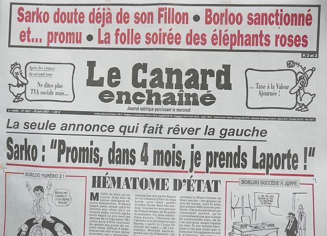 le Canard Enchaîné Laune10