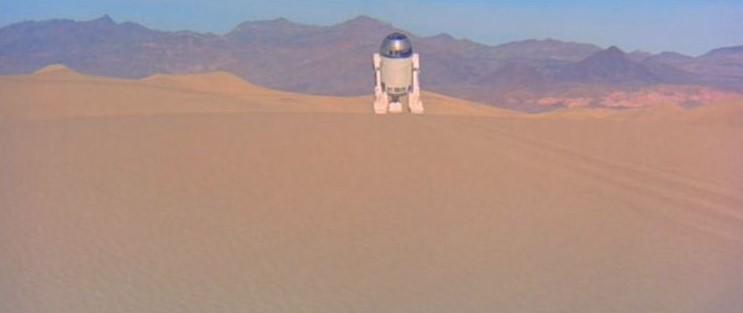 "La ""Death Valley"" de Tatooine (Star Wars 4 : A New Hope)  01-sw410"