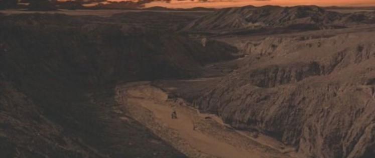 "La ""Death Valley"" de Tatooine (Star Wars 4 : A New Hope)  03-sw411"