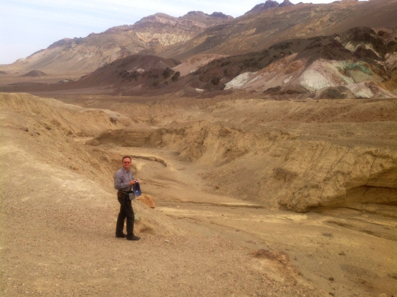 "La ""Death Valley"" de Tatooine (Star Wars 4 : A New Hope)  04-20110"