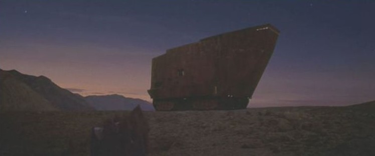 "La ""Death Valley"" de Tatooine (Star Wars 4 : A New Hope)  08-sw410"