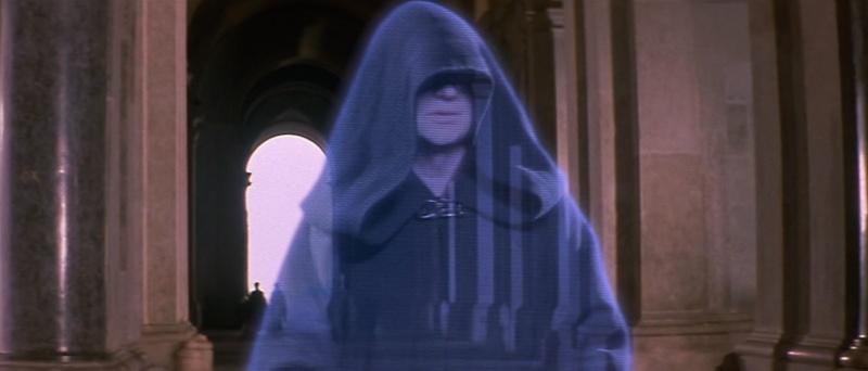 De La menace fantôme (The Phantom Menace) à l'Attaque des clones (Attack of the Clones). A Caserta, dans le palais d'Amidala (planète Naboo) 1999-s10