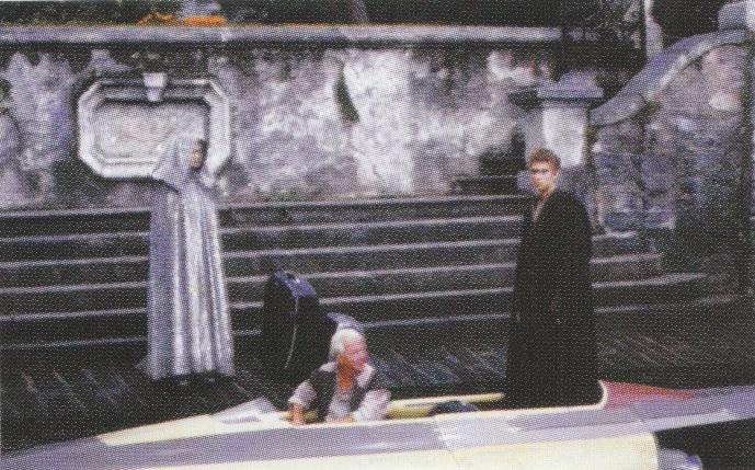 Lac de Côme et Villa Balbianello: vacances à Naboo sur le tournage de l'Attaque des Clones (Star Wars II: Attack of the Clones) 2002-s12