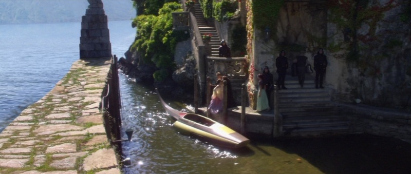Lac de Côme et Villa Balbianello: vacances à Naboo sur le tournage de l'Attaque des Clones (Star Wars II: Attack of the Clones) 2002-s14