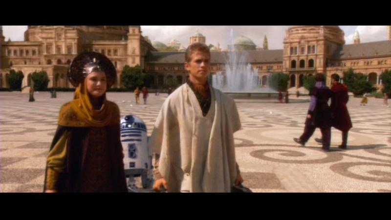 Star Wars 2 : Attack of the Clones. A Séville, dans la cité de Theed (capitale de Naboo) Sw2-ar10