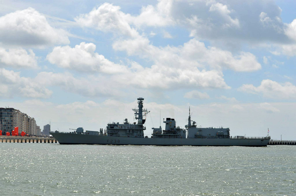 Le HMS Northumberland (F238) à Oostende le 17.06.2015 Hms_no12