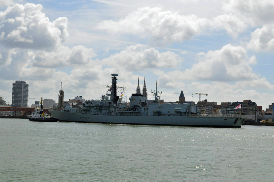 Le HMS Northumberland (F238) à Oostende le 17.06.2015 Hms_no13