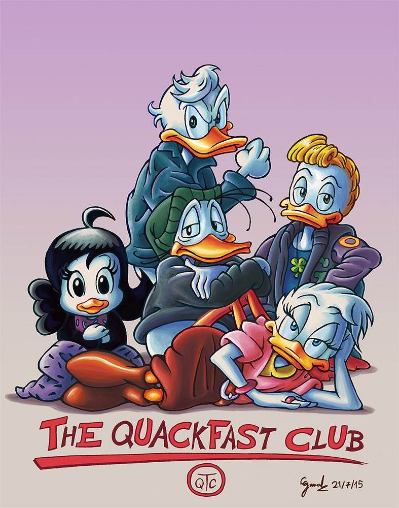 Dessins que je fais!  (univers BD de Mickey et Donald...) - Page 6 Qc10
