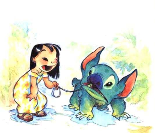 Lilo & Stitch [Walt Disney - 2002] Pdvd_011