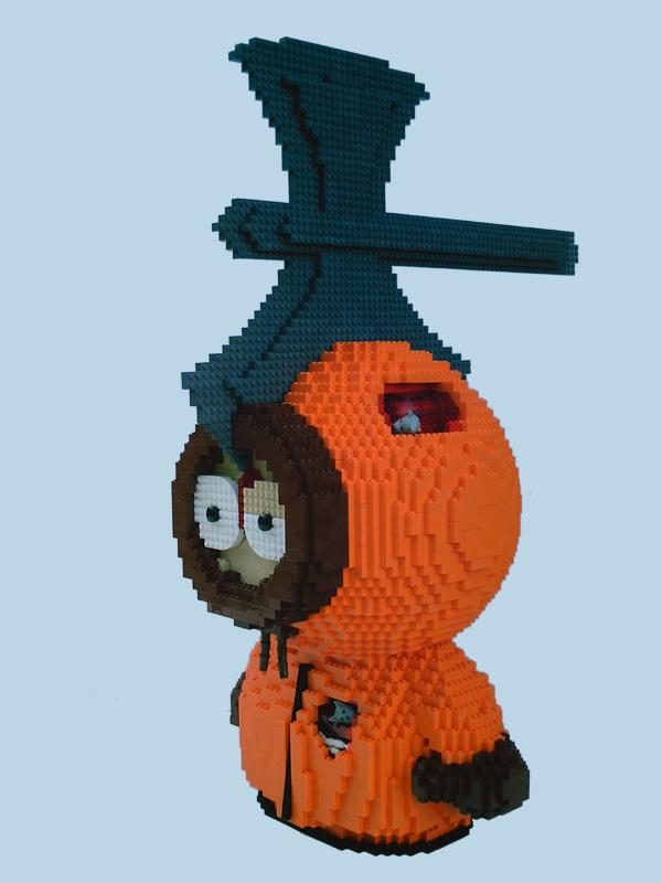 [Lego] Les sculptures en briques ! Kenny10