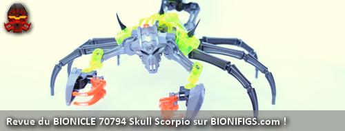 [Revue] BIONICLE 2015 : 70794 Skull Scorpio Review13