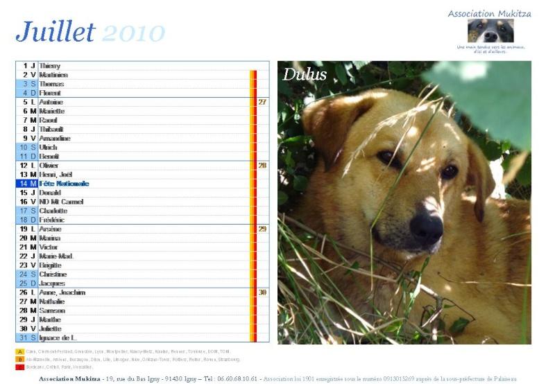 Calendrier 2010 Diapos33