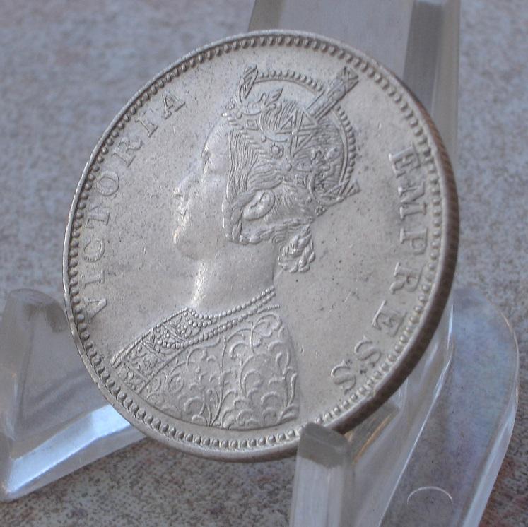1 Rupee. India Britanica. 1887 Dsc09515