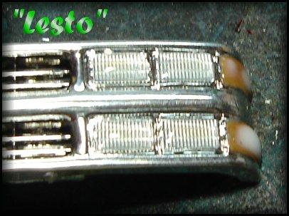 phares chromé 2711
