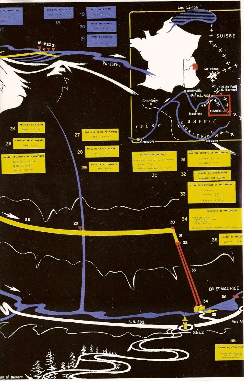 [Tignes] Le barrage de Tignes et les aménagements liés - Page 2 Numeri12