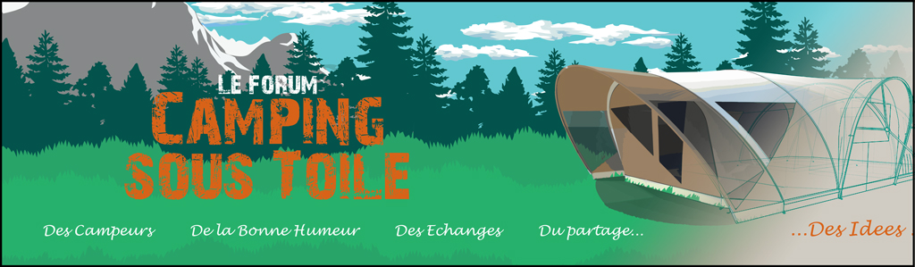 Camping sous toile