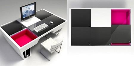 Puzzle table, le bureau modulable Bureau10