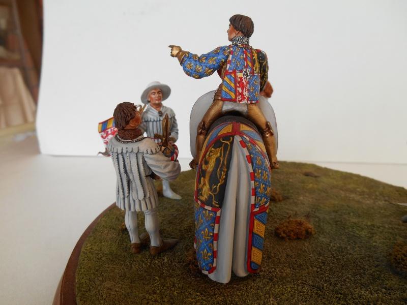 Les figurines de ma femme - Départ pour le tournoi - 54mm R40-bo17