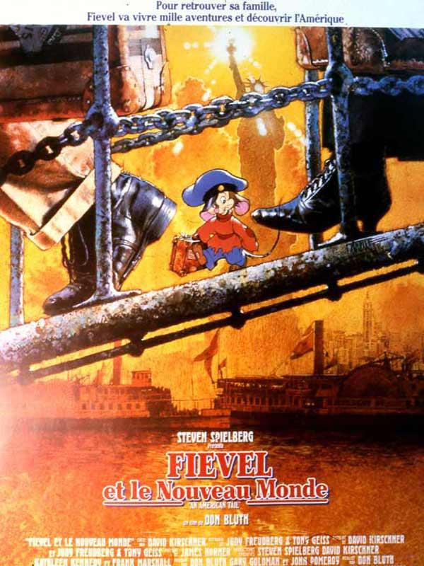 [Sullivan Bluth] Fievel et le Nouveau Monde (1982) / Brisby et le Secret de NIMH (1986) Aff10
