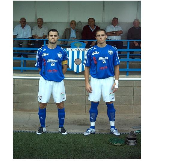 La nova equipació del FC Alcarràs Dibujo11