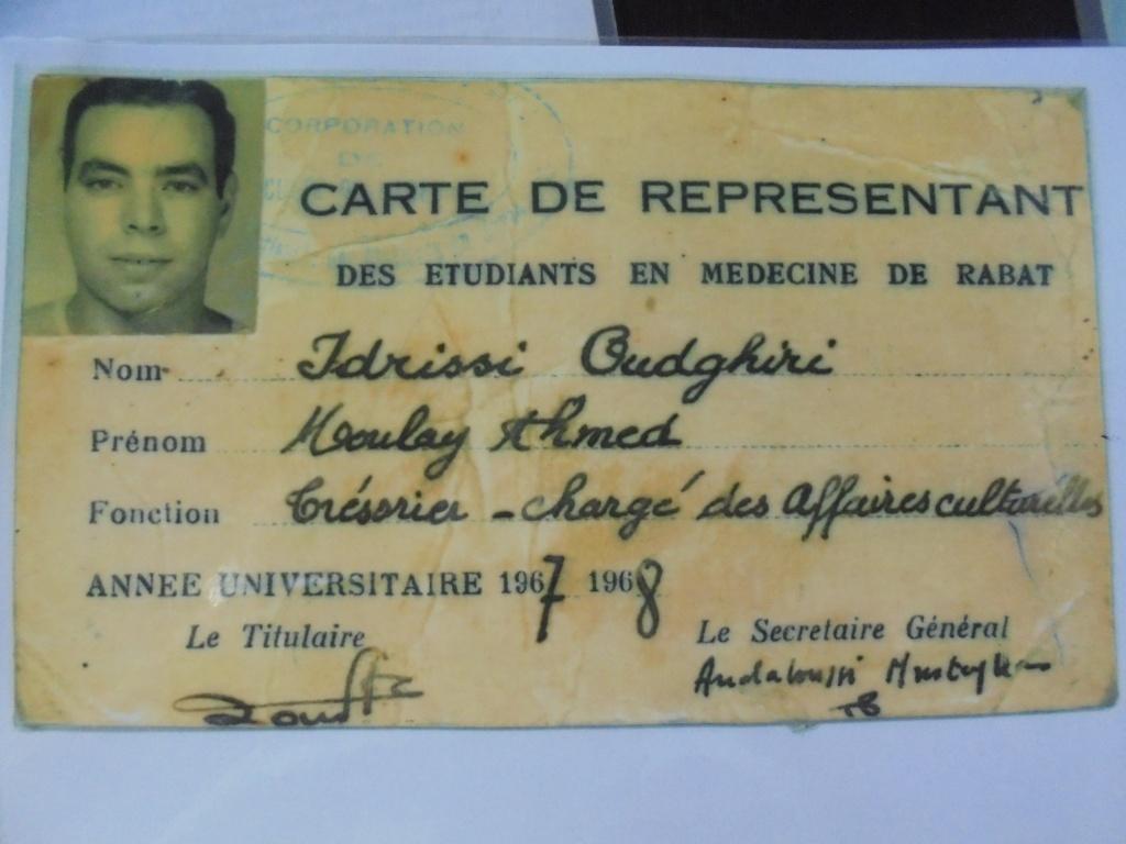 Biographie sommaire de l'Administrateur du Forum Dr IDRISSI MY AHMED Dsc02710