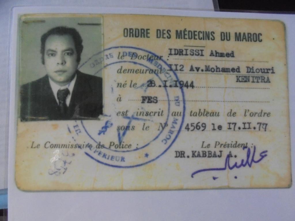 Biographie sommaire de l'Administrateur du Forum Dr IDRISSI MY AHMED Dsc02713