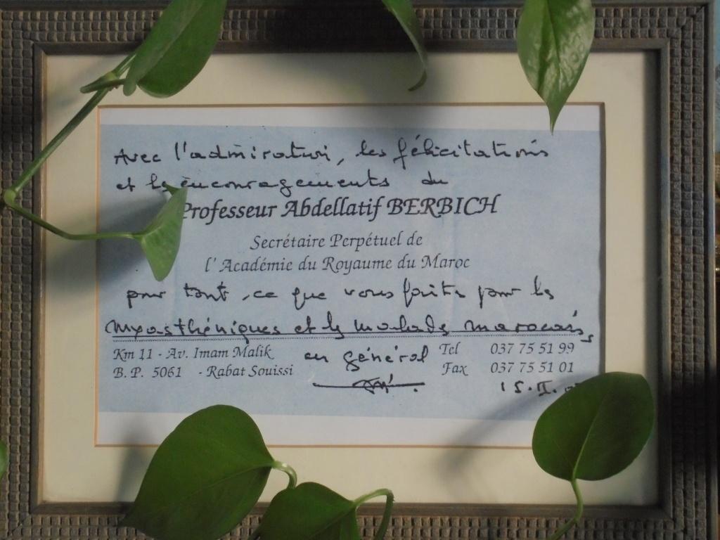 Biographie sommaire de l'Administrateur du Forum Dr IDRISSI MY AHMED Dsc02810