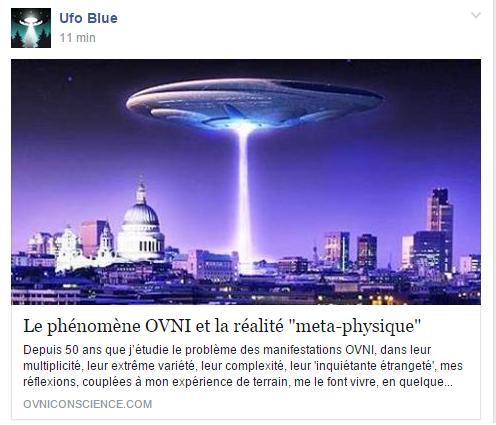 """Le phénomène OVNI et la réalité """"meta-physique"""" - [Groupe Facebook] 110"""