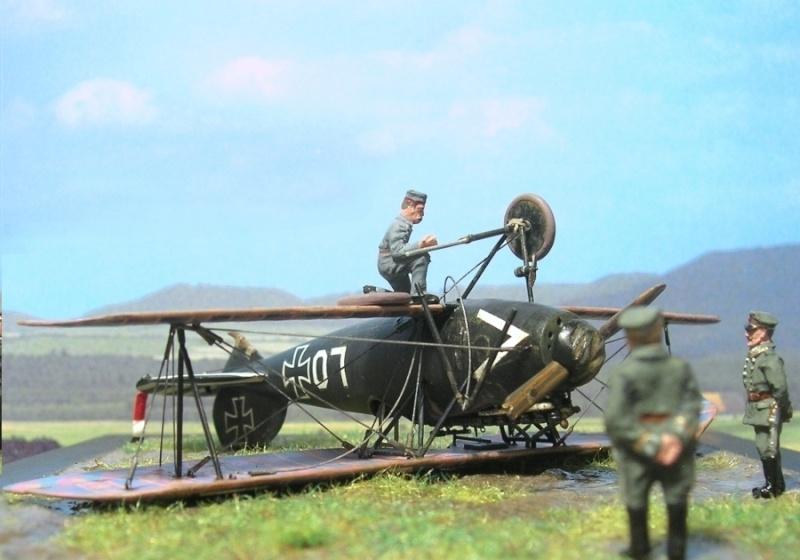 Albatros D-Va Ernst Udet 1/72 Albatr14