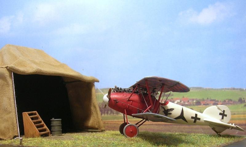 Albatros D-Va Jasta 18 1/72 Albatr27