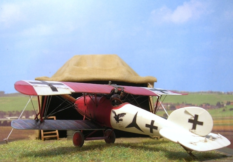 Albatros D-Va Jasta 18 1/72 Albatr28