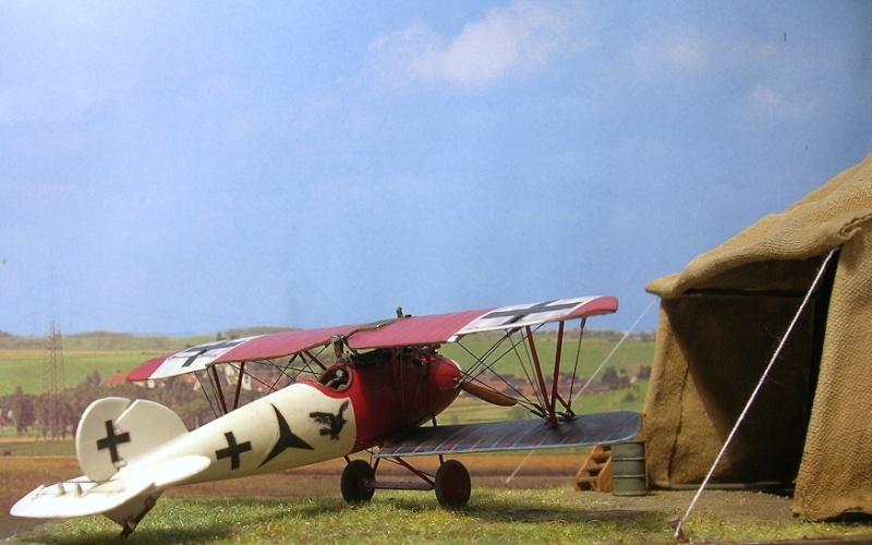 Albatros D-Va Jasta 18 1/72 Albatr29