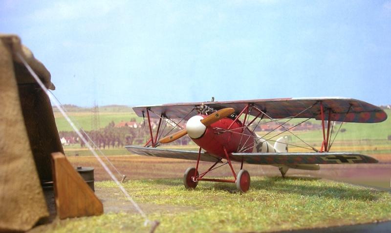 Albatros D-Va Jasta 18 1/72 Albatr30