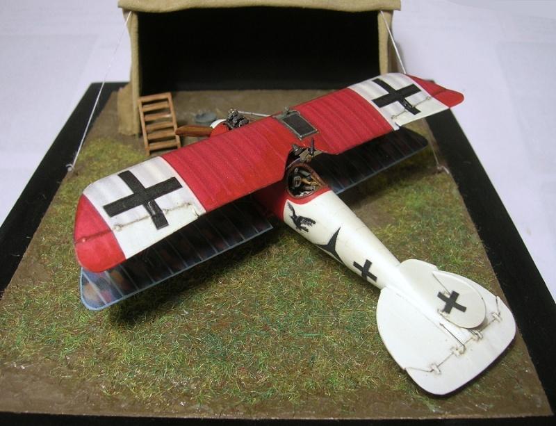 Albatros D-Va Jasta 18 1/72 Albatr32