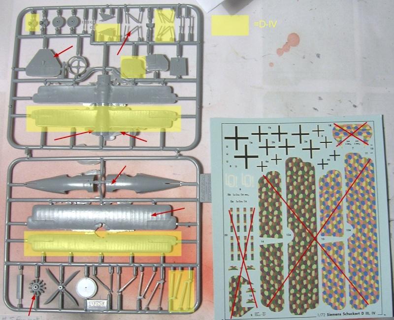 Siemens-Schukert D-III, Eastern Express 1/72 Kit10