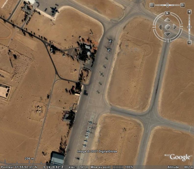Topic des bases de l'armée de l'air/US air force etc... - Page 38 Ouargl11