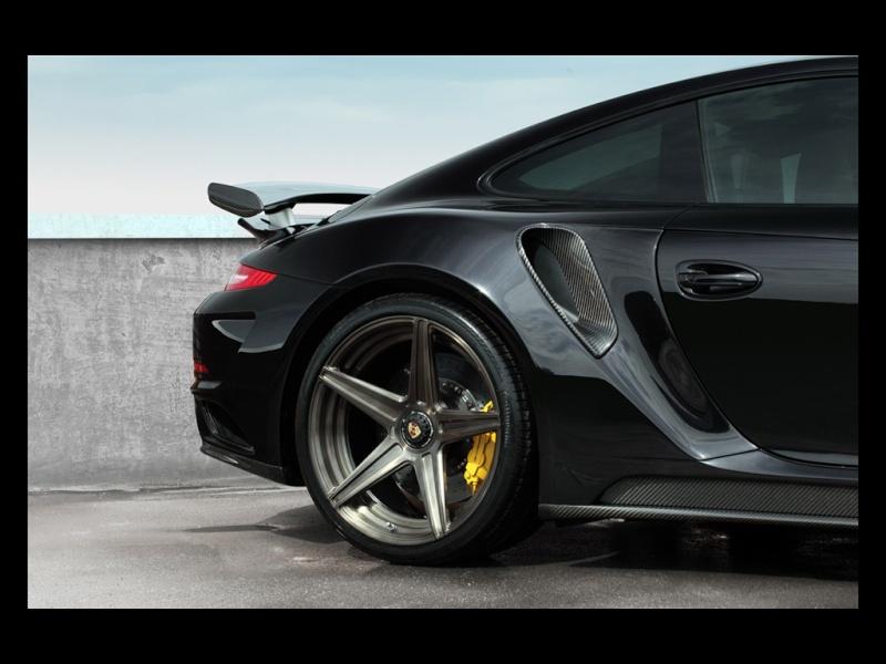 Porsche 991 Turbo Stinger GTR Black 2015-t11