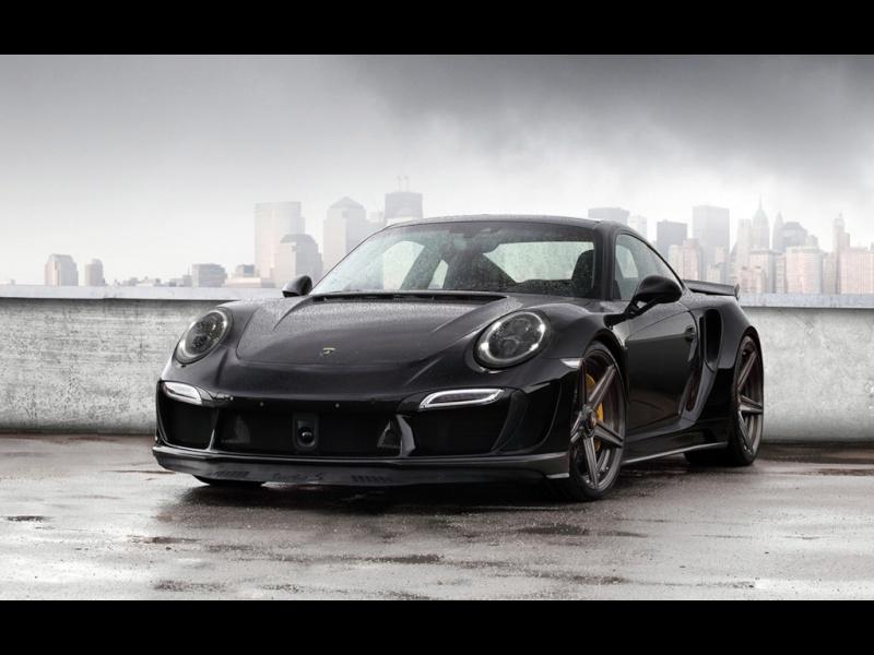 Porsche 991 Turbo Stinger GTR Black 2015-t15