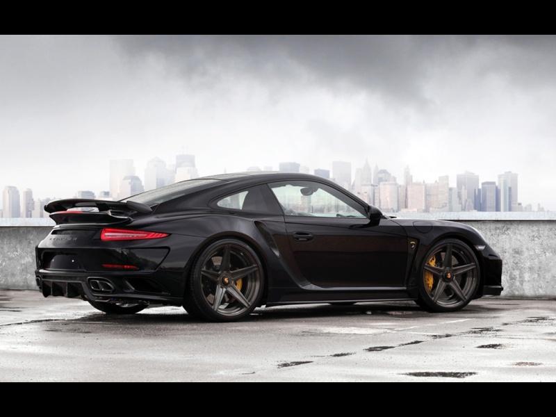 Porsche 991 Turbo Stinger GTR Black 2015-t16