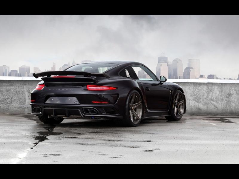 Porsche 991 Turbo Stinger GTR Black 2015-t17